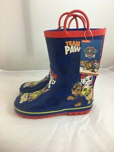 Paw Patrol Boys Rain Boots Team Paw