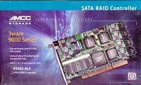 Amcc 3ware 9500s-4lp Pci-64bit Sata Raid Controller 701-0190-04 A - & Sealed