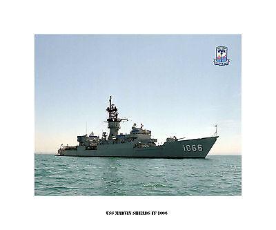 US Ship USS PATTERSON FF 1061 USN Navy Photo Print Destroyer Escort