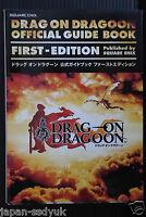 JAPAN Drakengard Drag-On Dragoon GUIDE BOOK OOP