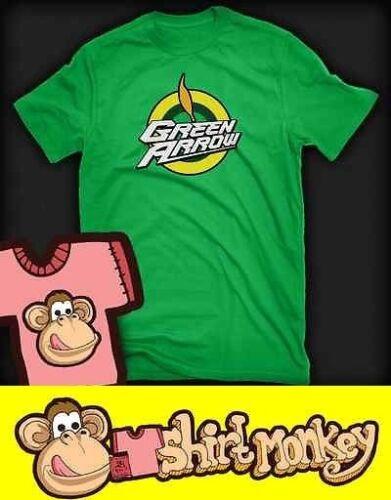 Flèche verte logo Inspiré T-Shirt dames et hommes plusieurs couleurs