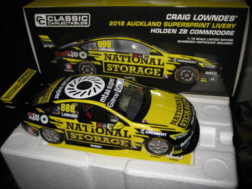 1//18 CLASSIC 2018 AUCKLAND LOWNDES HOLDEN ZB COMMODORE NATIONAL STORAGE  #18684