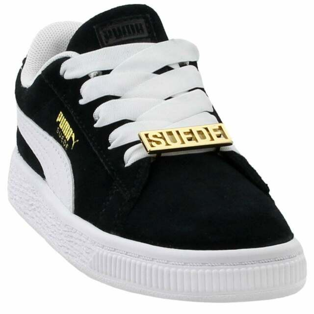 Puma Suede Classic B-Boy Fabulous (Toddler) Sneakers Casual Sneakers Black
