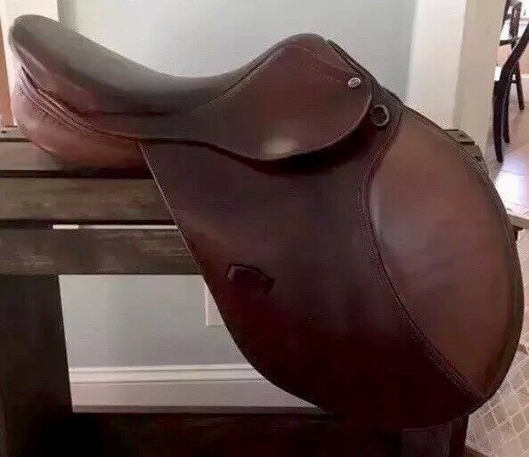 16.5  HDR Pro QH Close Contact Jumping English Saddle M Tree Brown 2-Tone  order online