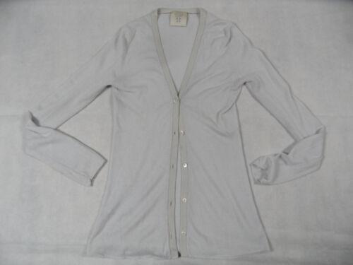 grigio cashmere Bi1118 Top Caro in S cashmere cardigan leggero beige gr d64wqX4