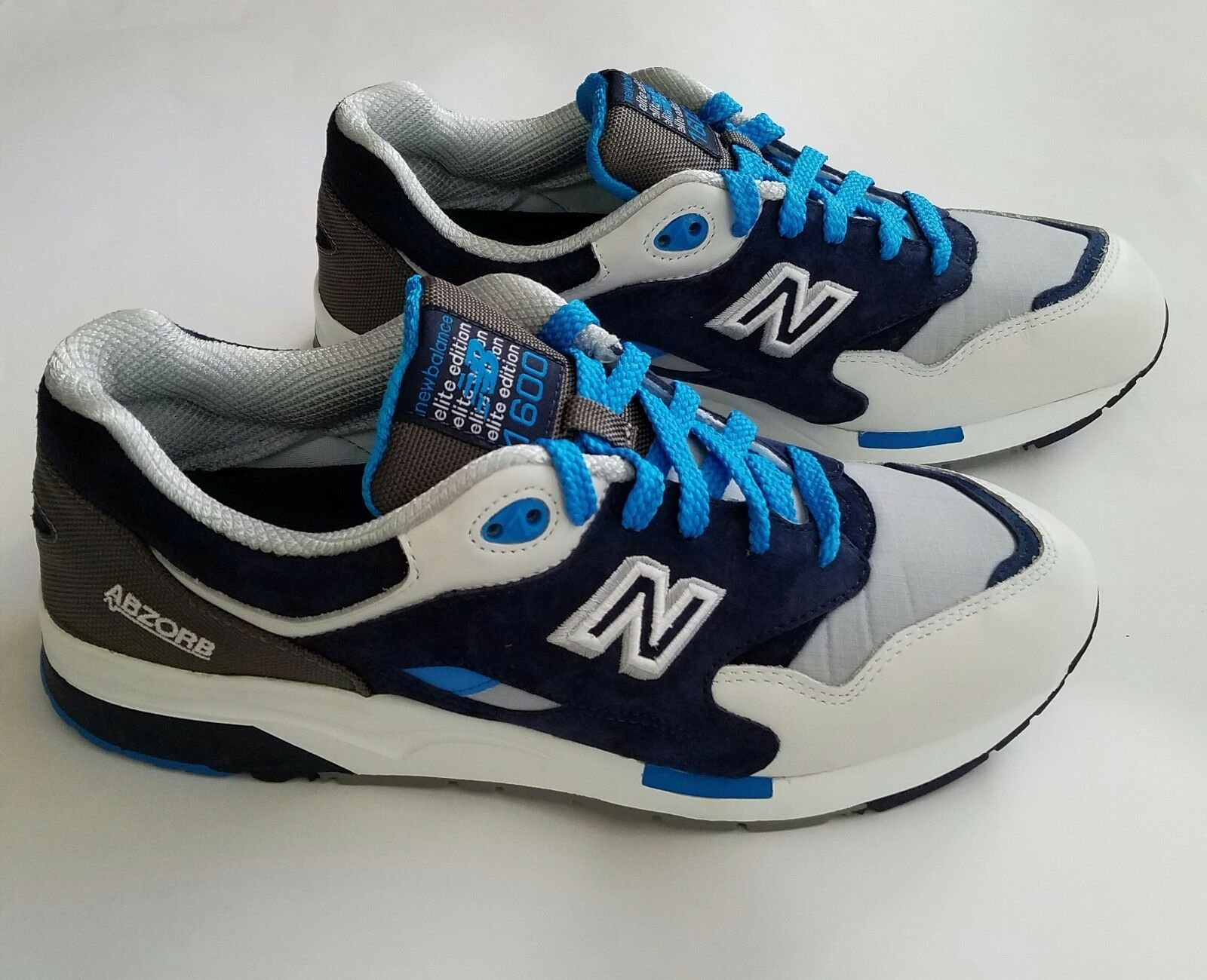 New blanco Balance cm1600co mecha gris azul negro blanco New Suede Limited Runner comodo 435ec6