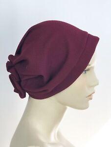 Pleated-Muslim-Hijab-Cap-Stretch-Chemo-Turban-Hat-Women-Head-Scarf