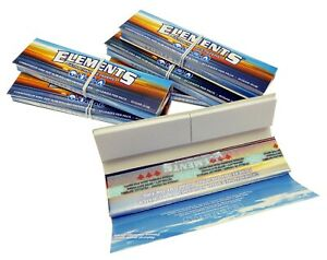 1-5-10-20-Elements-Kingsize-Connoisseur-Slim-Rolling-Papers-amp-Tips-Free-Del