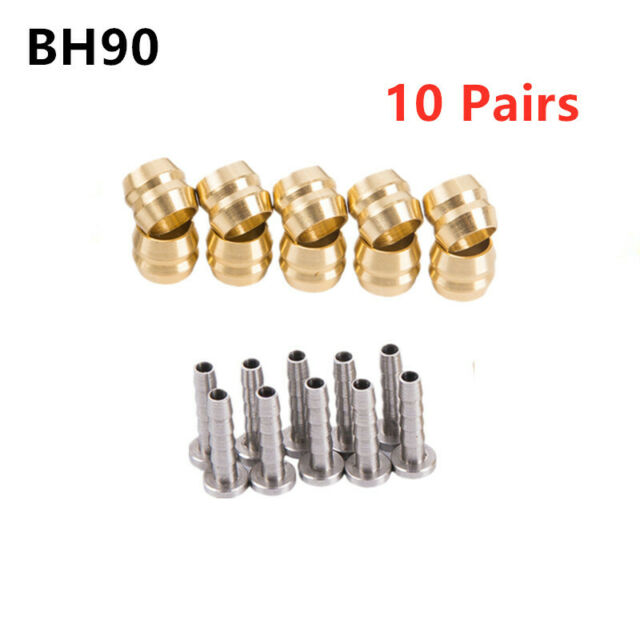4 Pair Olive /& Insert Connector For Shimano MTB BH90 Disc Brake Hose