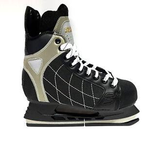 Roces-RH-3-Eishockey-Schlittschuhe-Senior-Freizeit-schwarz-Iceskate-Gr-43