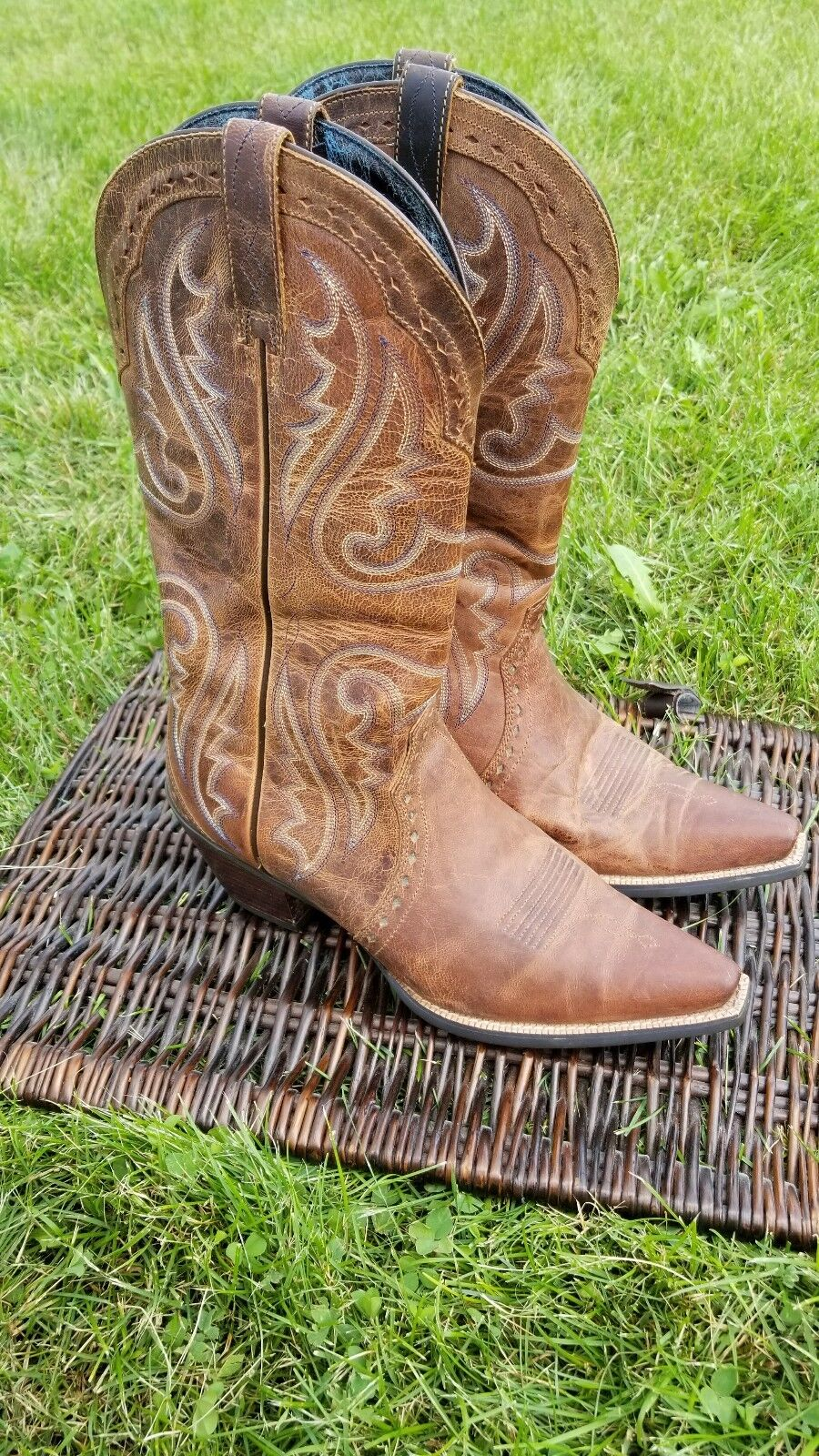 Ariat Heritage Heritage Heritage X Toe Mujer botas Western Cowgirl  Disfruta de un 50% de descuento.