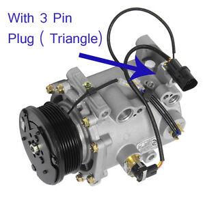 AC Compressor Fits: 00 - 05 Mitsubishi Eclipse V6 3.0L / 00 - 02 Galant V6 3.0L