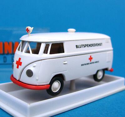 Brekina H0 32512 VW T1 b Kasten DRK Blutspendedienst HO 1:87 OVP Box Volkswagen