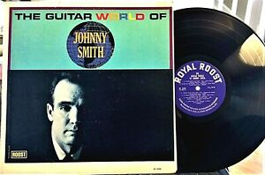 THE-GUITAR-WORLD-OF-JOHNNY-SMITH-LP-Roost-LP-2254-1963-VG