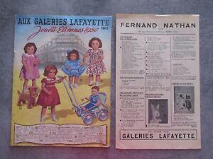 CATALOGUE-JOUETS-ETRENNES-GALERIE-LAFAYETTE-1950-PARIS-AVEC-TOUTE-CES-PAGES-1
