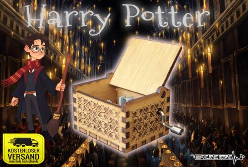 HARRY POTTER Spieluhr Musikbox Musicbox Fanartikel NEU (HOLZBOX wählbar)