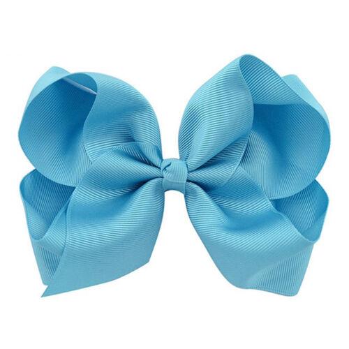 Cute Baby Toddler Girls Bright Color Bow Hair Clip Kid Headwear Hair Accessories