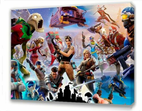 FORTNITE CANVAS PICTURE 14 DESIGNS TO CHOOSE FROM