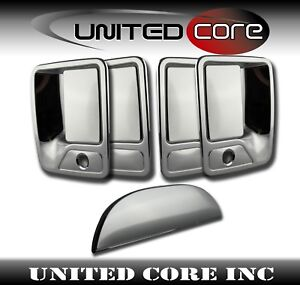 Ford Super Duty F250 F350 Chrome Door Handle Cover Chrome Tailgate Cover 97-07