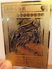 USA seller Yugioh BLUE-EYES WHITE DRAGON Custom Metal Card Golden cards