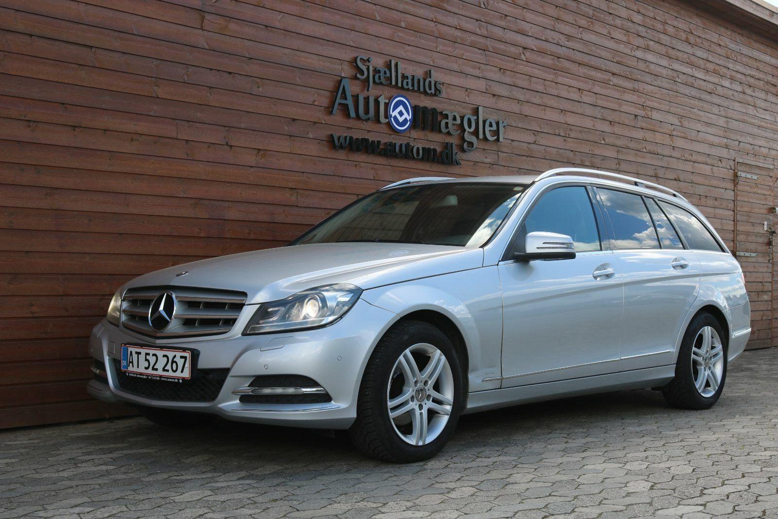 Mercedes C200 2,2 CDi Avantgarde stc. aut. BE 5d - 165.000 kr.