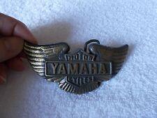 Yamaha Motorcycles Vintage Belt Buckle Brass Color