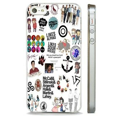 Teen Wolf TV Show Collage CLEAR PHONE CASE COVER fits iPHONE 5 6 7 8 X | eBay