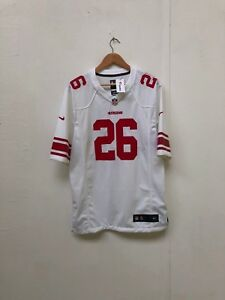 huge selection of a6c4a 8426a Details about San Francisco 49ers Nike NFL Men's 2018 Game Jersey - Medium  - Barkley 26 - New
