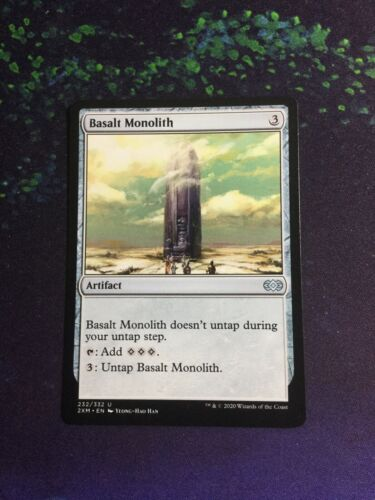 Double Masters UnCommon NM Basalt Monolith MTG