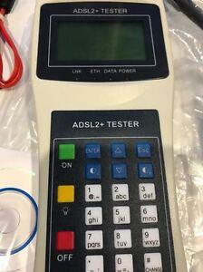 New xDSL ADSL2+ tester,test ADSL,2,ADSL2+ 4 Prof Tech