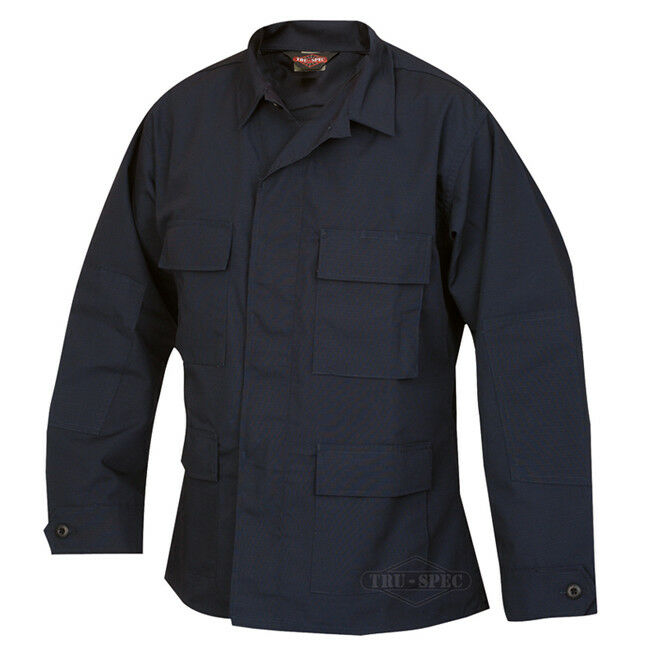 Tru-Spec  Navy BDU Coat 65 35 Poly Cotton RS  official website