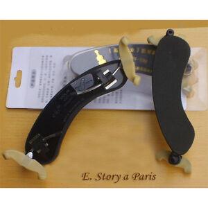 on sale new violin shoulder rest maple wood adjustable 4 4 3 4 1 2 1 4 1 8 ebay. Black Bedroom Furniture Sets. Home Design Ideas