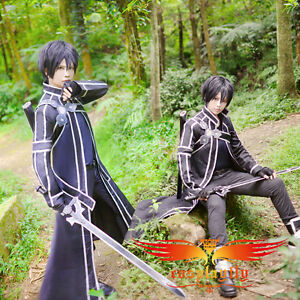 Sword-Art-Online-Kazuto-Kirigaya-Uniform-Cosplay-Costume-Custom-Made-Size