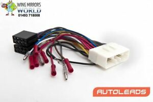 Details about Jaguar XK8 1996-2002 ISO Harness Adaptor Lead Cable Autoleads on
