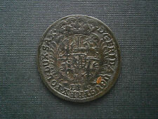 Sachsen 1705 Silber Patina 1/12 Taler EPH Leipzig Friedrich August I.