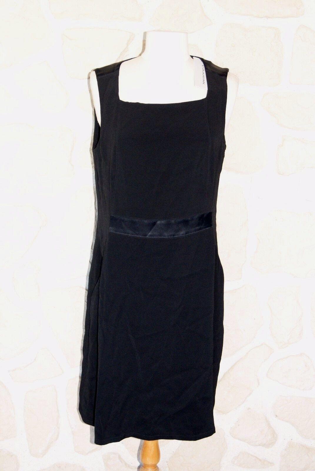 Robe noire neuve marque Eva Kayan taille 44 étiqueté à