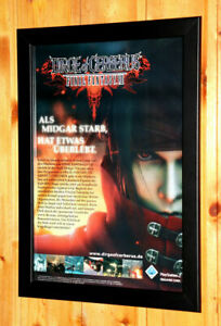 Dirge-of-Cerberus-Final-Fantasy-VII-7-Rare-Small-Poster-Old-Ad-Page-Framed-PS2