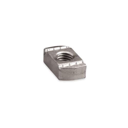 Channel Nut w//o Spring,3//8-16 In,Steel NUT0037EG