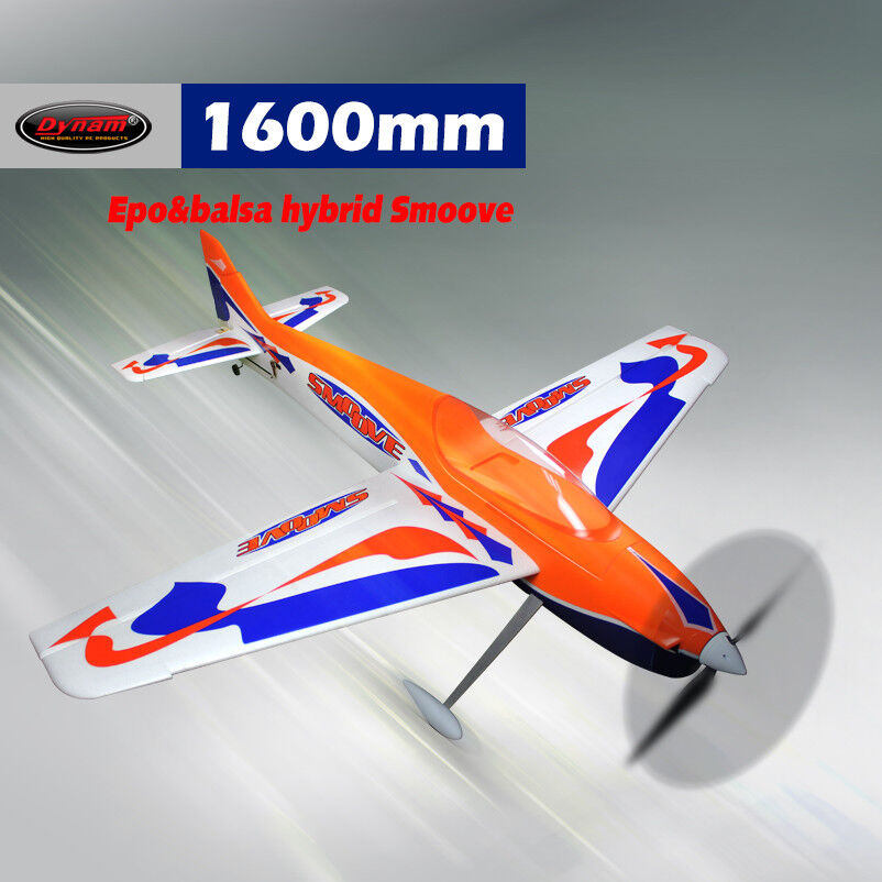 Dynam balsa Smoove 1600 mm envergadura-KIT-W-G601 Motor