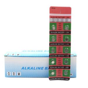 10Pcs-AG4-LR626-377-1-55V-Alkaline-Button-Coin-Cells-Watch-Battery-Batteries-New