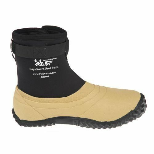 RAY GUARD REEF BOOTS FOREVER LAST WADING FISHING /& HUNTING BOOTS SIZE 8