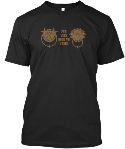 It/'s Standard Unisex T-shirt Its Very Rude To Stare Labyrinth