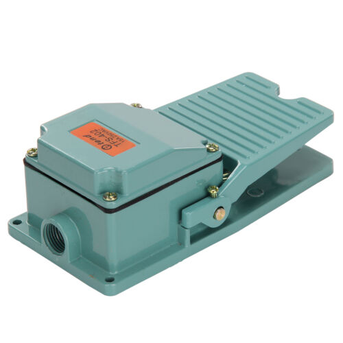 AC 250V 15A Momentary Contact Antislip Operated Pedal Industrial Foot Switch DIY