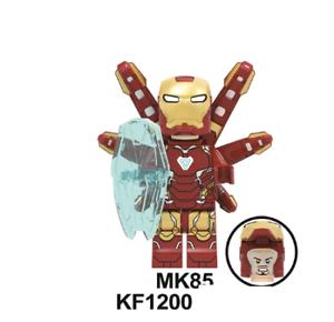 Transparent Predator Alien Rare Toy Custom LeGo Mini figures IRON MAN MARVEL