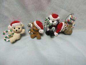 4 BABYS MY FIRST CHRISTMAS ORNAMENT 1992,1993,1994,1995 ...