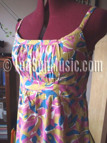 Maxi Long Voile 14 Pink Ibiza Boden Uk Dress Pure Cotton New Size Stunning 14l wB1Ydq