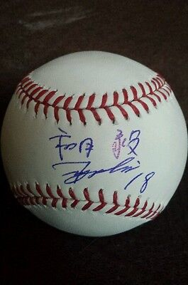 Tsuyoshi Wada Signed Official Major League Baseball *chicago Cubs* Proof Eng/ja To Win Warm Praise From Customers Baseball-mlb Balls