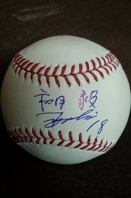 Baseball-mlb Autographs-original Tsuyoshi Wada Signed Official Major League Baseball *chicago Cubs* Proof Eng/ja To Win Warm Praise From Customers