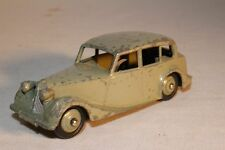 1940's Dinky Toys, #40b Triumph 1800 Sedan, Fawn Color Body and Hubs, Original