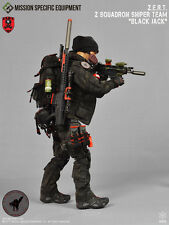 1/6 Action Figure Toy MSE ZERT Sniper Black Jack Grey MRAD Barbie Doll Pouch 30